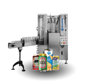Robot 80 round can seamer machine