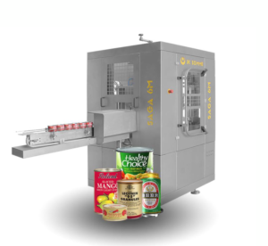 Saga round can seamer machine
