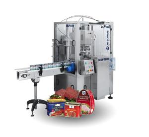 Neptun vacuum can seamer machine
